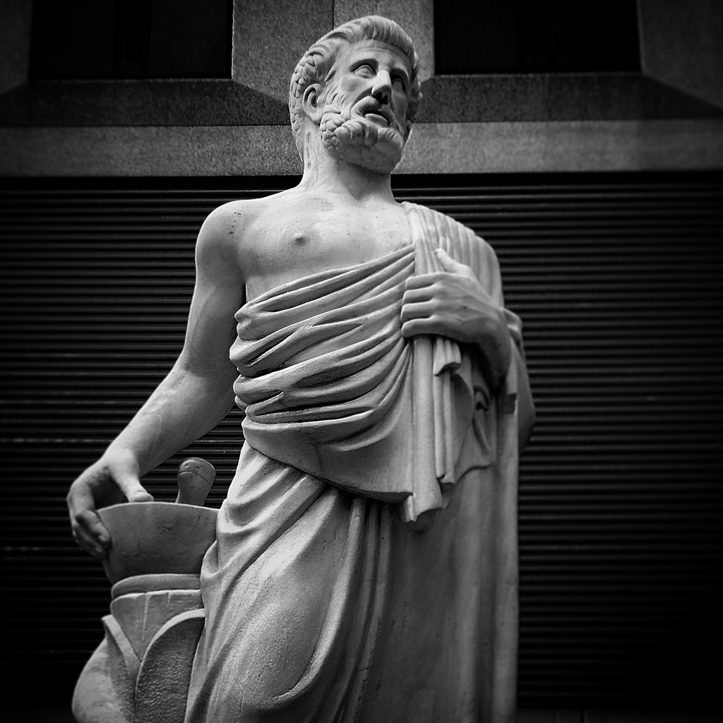 The source of all diseases is Distress, according to Hippocrates